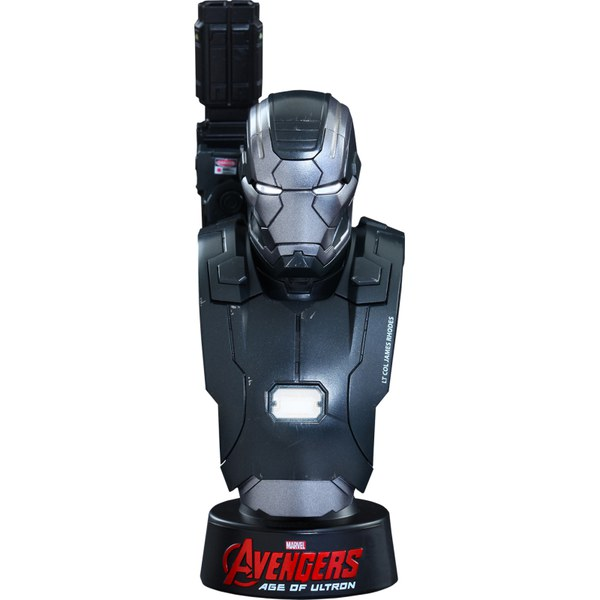 Hot Toys Marvel Age of Ultron War Machine Mark II 1:6 Scale Bust