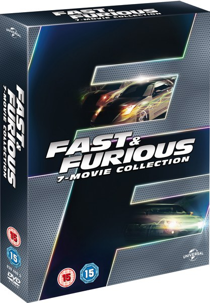 fast furious 1 7 boxset dvd zavvi. Black Bedroom Furniture Sets. Home Design Ideas