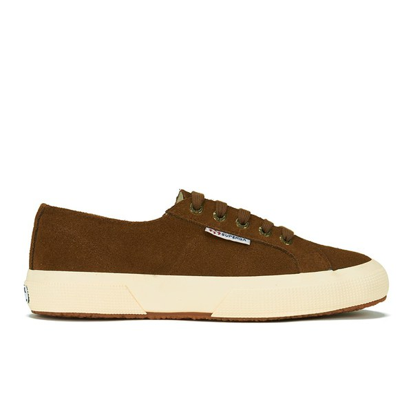 Superga Unisex 2750 SUEU Suede Trainers - Bombay Brown