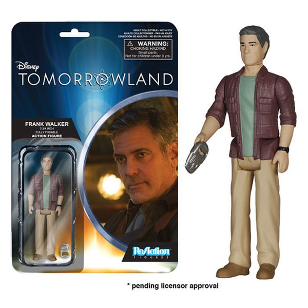 ReAction Disney Tomorrowland Frank Walker 3 3/4 Inch Action Figure