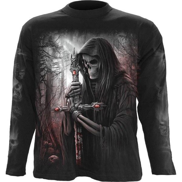 Spiral Men's SOUL SEARCHER Long Sleeve T-Shirt - Black