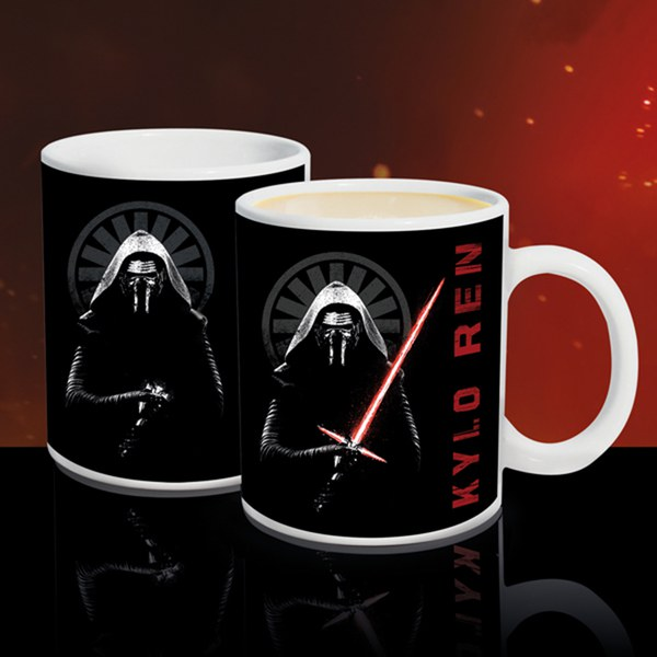 Star Wars Kylo Ren Heat Change Mug