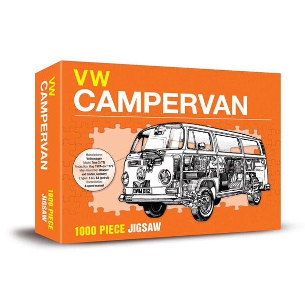 Haynes Edition VW Campervan Jigsaw
