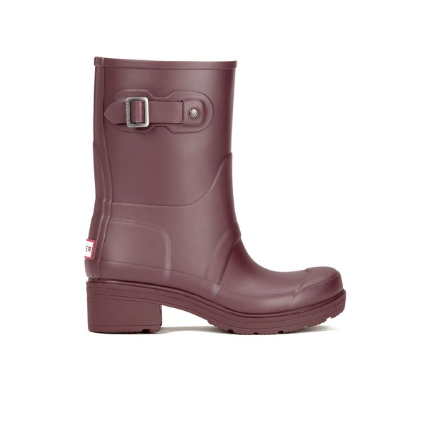 Hunter Women's Original Rubber Ankle Boots - Umber: Image 1