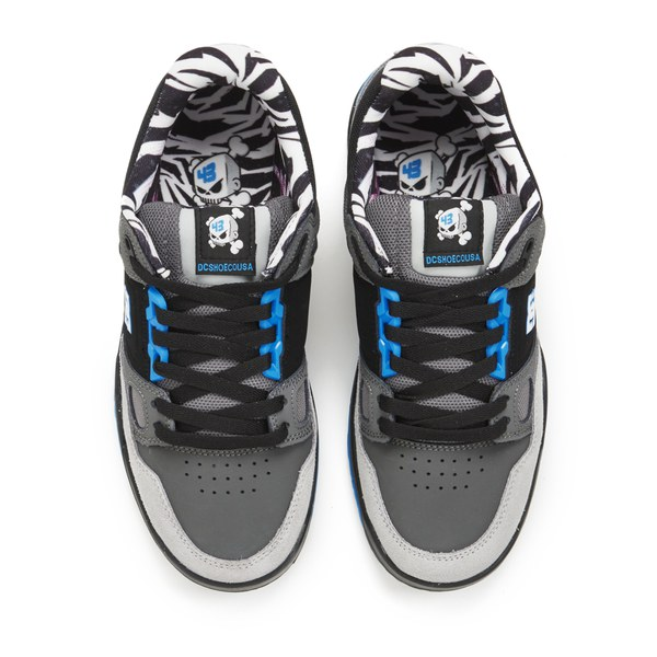 DC Shoes Men's Stag 2 KB Trainers - Cyan/Black: Image 2