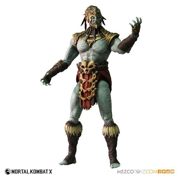 Mezco Mortal Kombat X Series 2 Kotal Kahn Action Figure