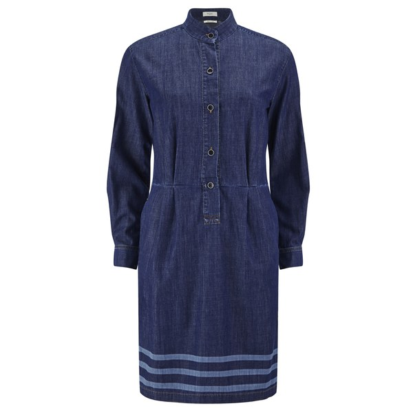 Paul by Paul Smith Women's Chambray Denim Midi Dress - Denim