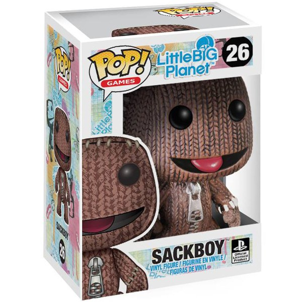 Little Big Planet Sack Boy Pop! Vinyl Figure