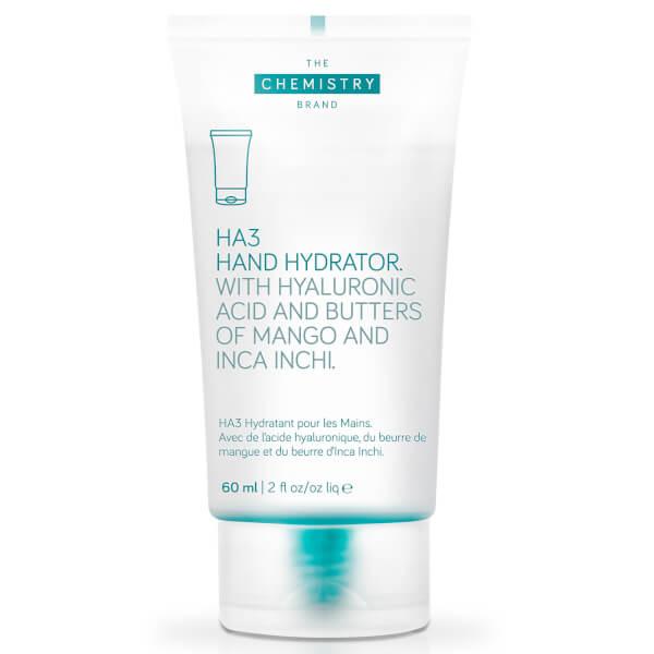 The Chemistry Brand Ha3: Crème pour les mains hydratante riche en hyaluronique triple fonction(60ml)