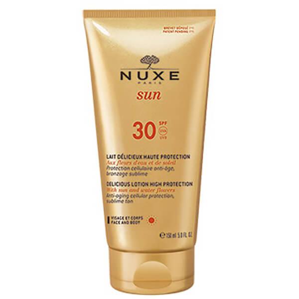 Lotion délicieuse Visage et Corps de NUXE SunSPF 30(150ml)