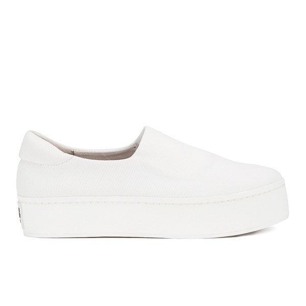 Opening Ceremony Women S Slip On Platform Sneakers White