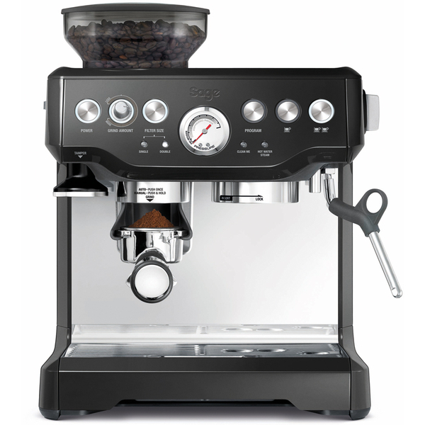 Sage BES870BSUK Barista Express Bean-to-Cup Coffee Machine - Black