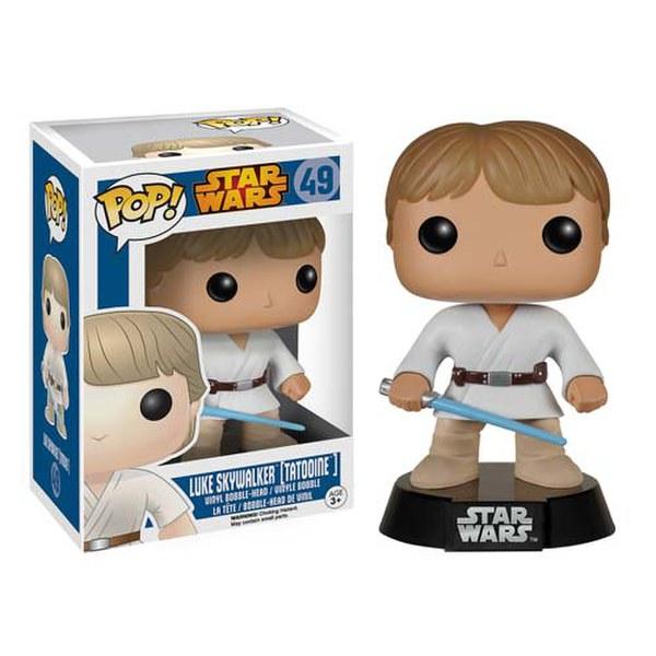 Star Wars Tatooine Luke Skywalker Pop! Vinyl Bobble Head Figure