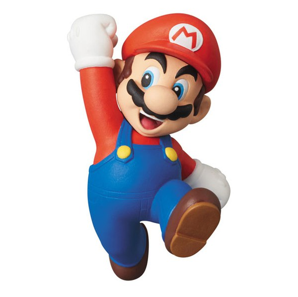 Mini Figurine Mario Série 1 Nintendo (New Super Mario Bros. Wii)