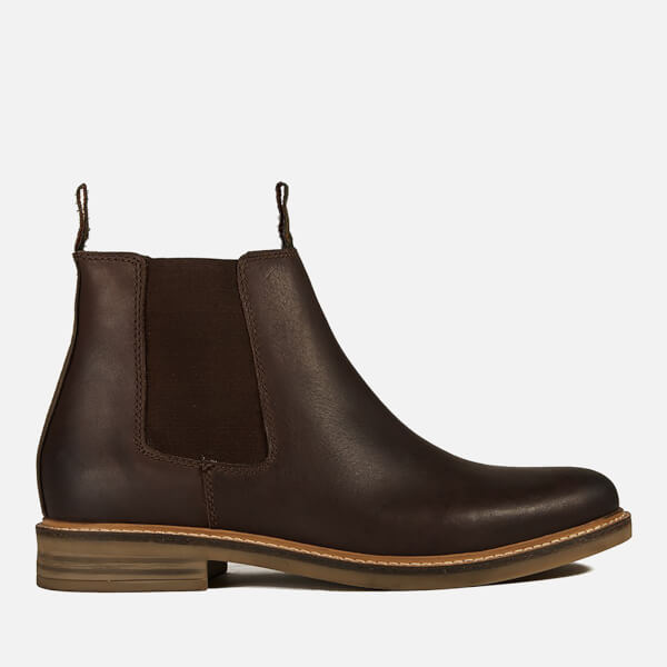 Barbour Men's Farsley Leather Chelsea Boots - Brown
