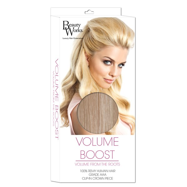 Beauty Works Volume Boost Hair Extensions 61318 Champagne Blonde