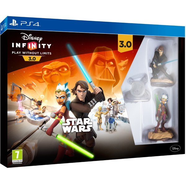 Disney Infinity 3 0 Star Wars Starter Pack Ps4 Zavvi