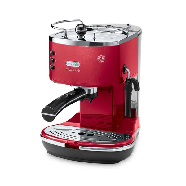 de 39 longhi ecom311 r icona micalite espresso coffee machine. Black Bedroom Furniture Sets. Home Design Ideas