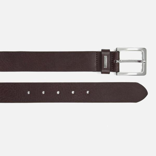 calvin klein s mino mino leather belt brown