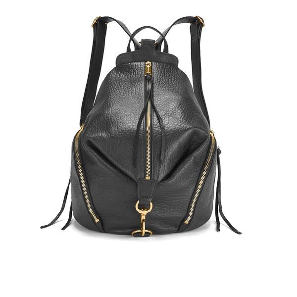 Rebecca Minkoff Women's Julian Backpack - Black/Gold Hardware