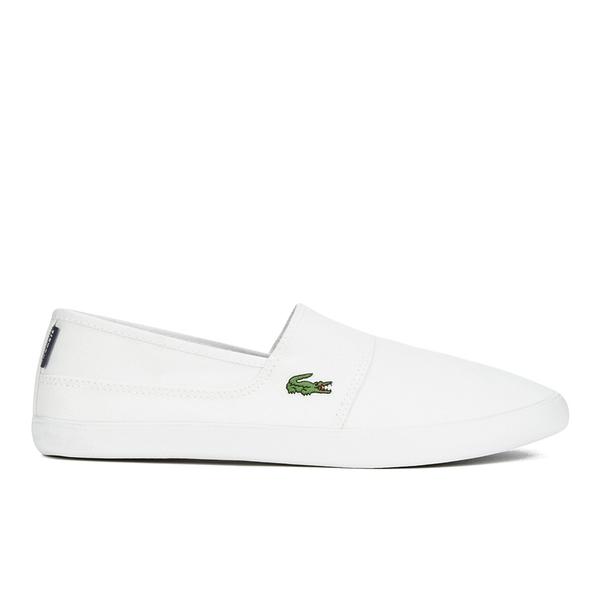 870e3c5016d9 Lacoste Men s Marice LCR SPM Plimsols - White White  Image 1