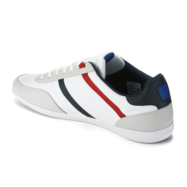66ed9de181 Lacoste Men s Giron TCL Leather Trainers - White  Image 5
