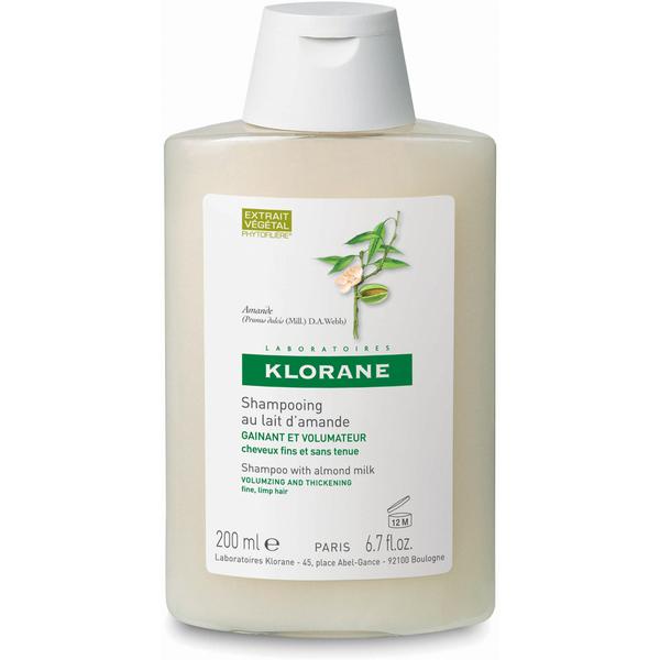 Champú de la leche de almendra KLORANE (200ml)