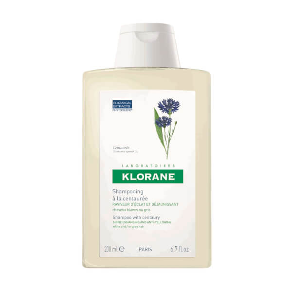 KLORANE Centaury (Cornflower) For Grey/White Hair Shampoo