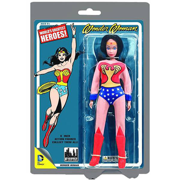 Mego DC Comics Wonder Woman 8 Inch Action Figure