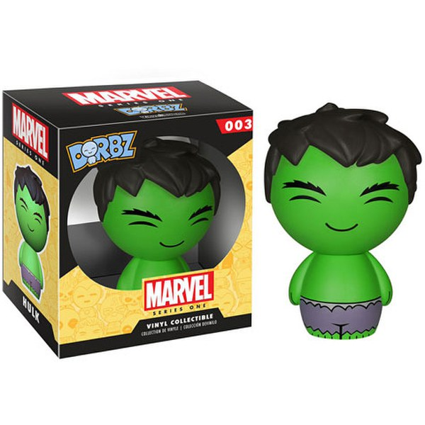 Marvel Hulk Vinyl Sugar Dorbz Action Figure