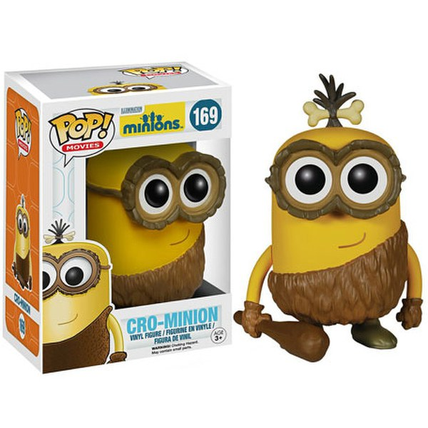 Minions Cro-Minion Pop! Vinyl Figure