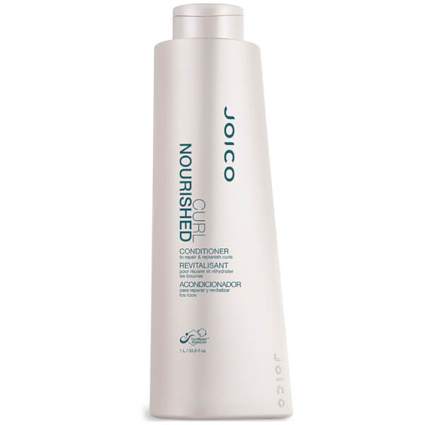 Joico Curl Nourished Conditioner to Repair and Nourish Curls (1000ml)
