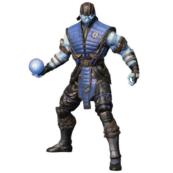 Mortal Kombat X Sub Zero Ice Variant Previews Exclusive 6 Inch Action Figure
