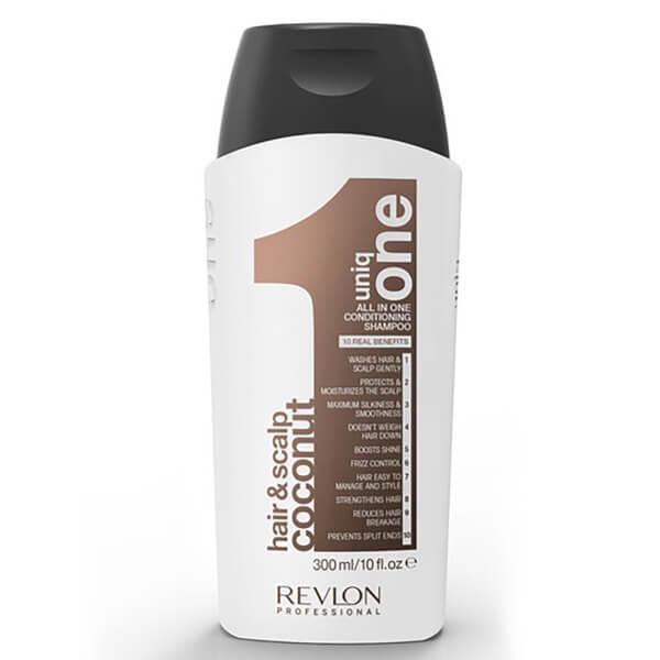 Uniq One shampooing hydratant cheveux et cuir chevelu nix de coco (300ml)