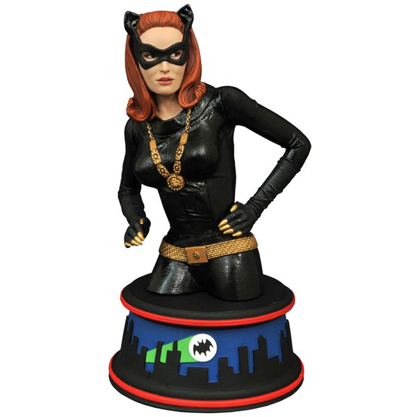 Diamond Select DC Comics Batman 1966 Catwoman Bust
