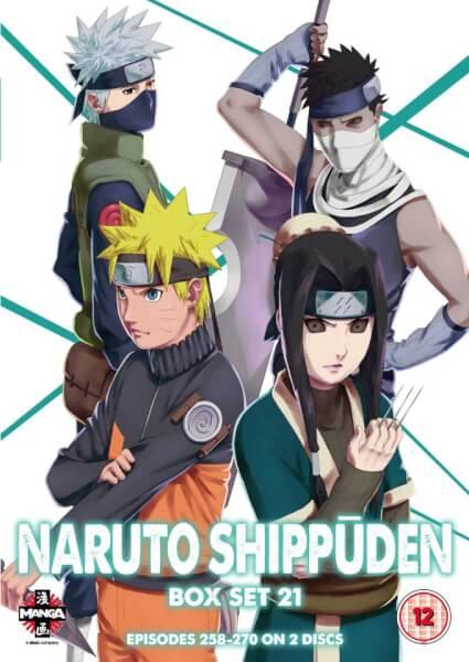 Naruto Shippuden Box Set 21 (Episodes 258-270)