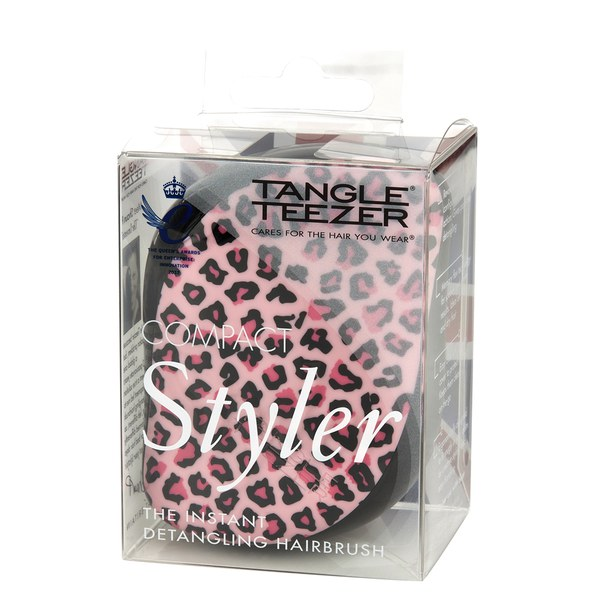 tangle teezer compact styler   pink kitty free shipping