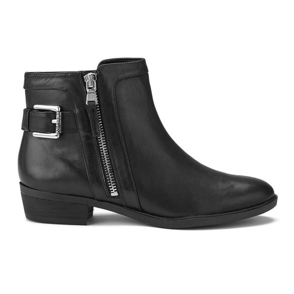 Lauren Ralph Lauren Women's Shelli Leather Ankle Boots - Black