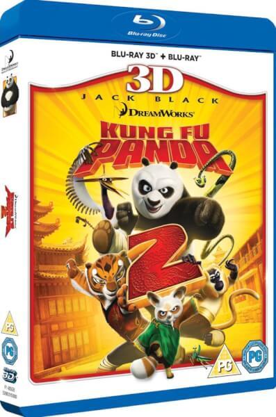 Kung Fu Panda 2 3D (Includes 2D version)