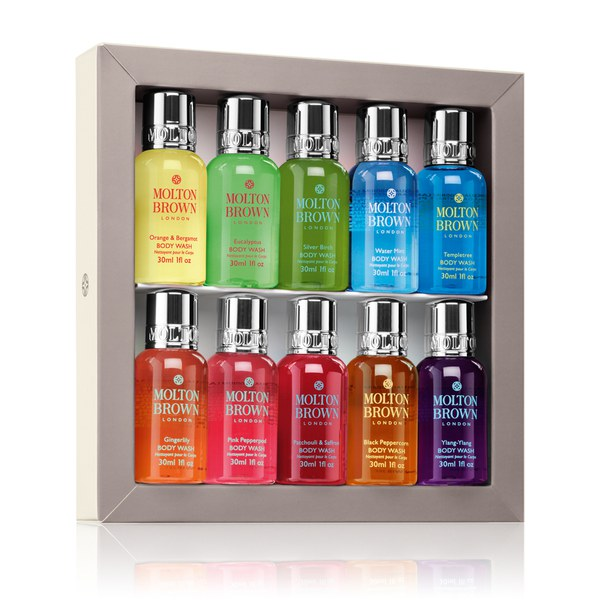 Molton brown signature scents mini body wash collection for Best molton brown scent