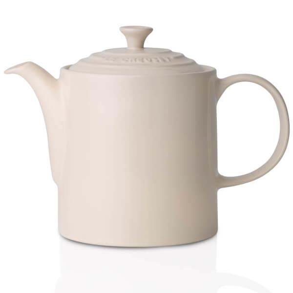 Le Creuset Stoneware Grand Teapot, 1.3L - Almond