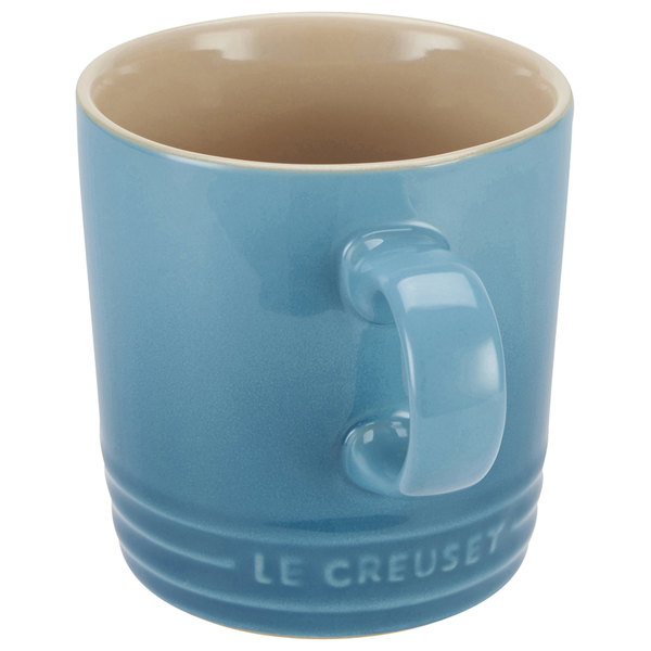 Le Creuset Stoneware Mug 350ml Teal Free Uk Delivery