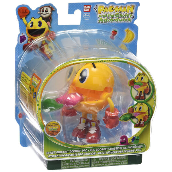 Pac-Man and The Ghostly Adventures - Ghost Grabbin' Gooage Figure