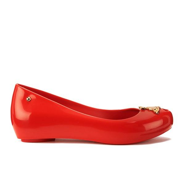 Vivienne Westwood for Melissa Women's Ultragirl 14 Orb Ballet Flats - Red Orb
