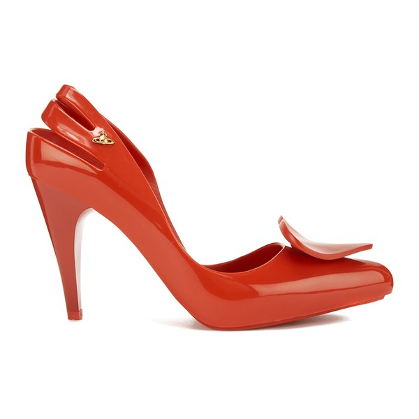 27093a1f06f5 Vivienne Westwood for Melissa Women s Classic Heels - Red Heart  Image 1