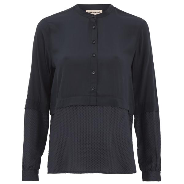 Custommade Women's Noor Shirt - Dark Navy