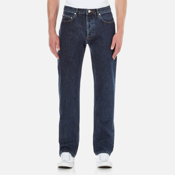 A.P.C. Men's Petit New Standard Slim Leg Denim Jeans - Selvedge Indigo