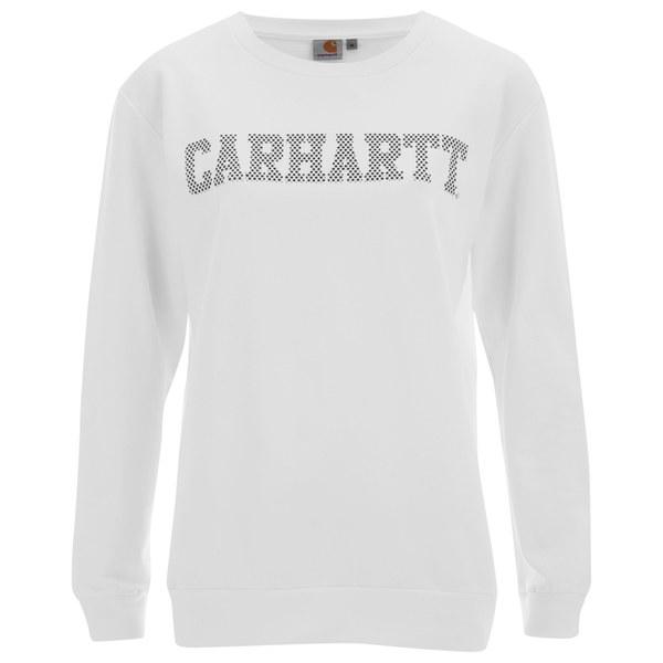 Carhartt Women's Patty Slogan Sweatshirt - White
