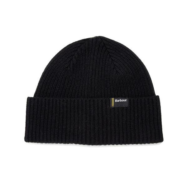 Barbour International Men's Beanie Hat - Black - One Size