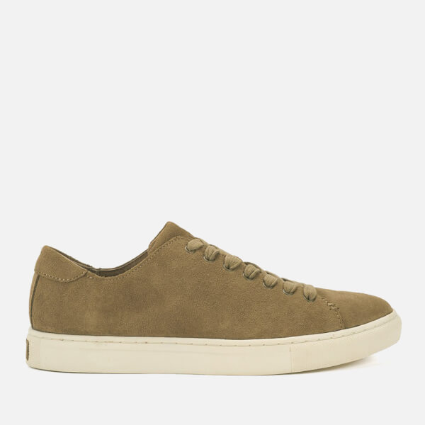 Polo Ralph Lauren Men's Jermain Suede Trainers - Dark Tan